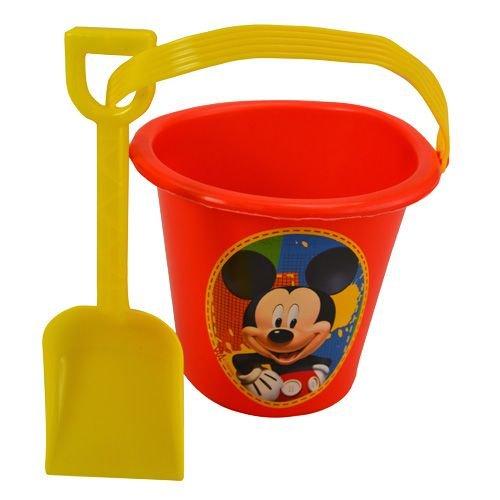 Disney Mickey Mouse Bucket and Shovel- 6 Pcs -