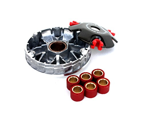 , High Performance Variator with 7 Gram Roller Weights for 50cc 4-stroke QMB139 Engines