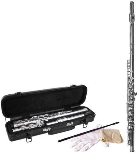 Flauta travesera de Tigre con funda: Amazon.es: Instrumentos musicales