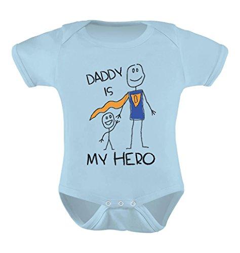 TeeStars - Daddy Is My Hero - Super Dad Bodysuit for Father's Day Baby Onesie
