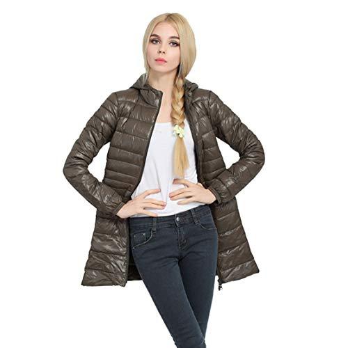 Nat terry Women Winter Down Jacket Slim Thin Long Coats Winter Coat Jaqueta Feminina Inverno Spring Autumn Outerwear ()