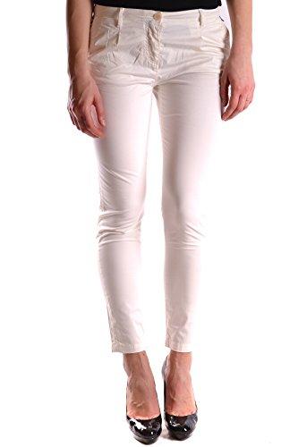 Etiqueta Negra Femme MCBI118049O Blanc Coton Jeans
