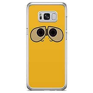 Loud Universe Wall E Samsung S8 Case Cartoon Robotics Samsung S8 Cover with Transparent Edges
