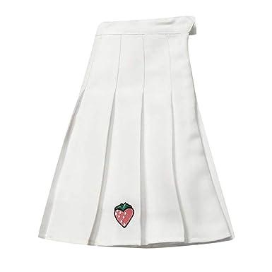 Faldas Mujer Cortas Verano Plisada 2019 Tallas Grandes PAOLIAN ...