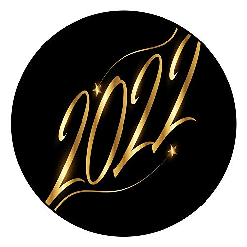 Hua Wu Chou Round Exercise matround BBQ Grill mat D2'3/0.7m Golden 2022 Logo