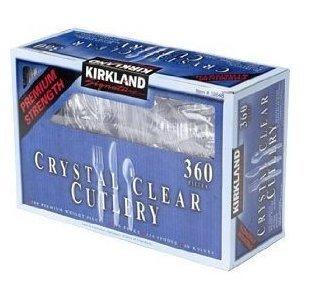 Kirkland Signature Crystal Clear Cutlery - 360 - Houston Shopping At