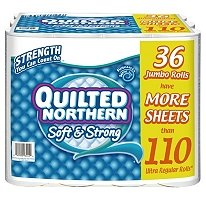 Quilted Northern Soft & Strong Bathroom Tissue - 36 Jumbo Ro