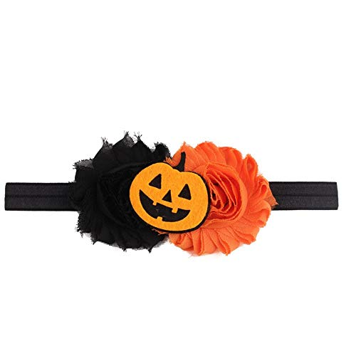 1 piece 2017 Halloween Headwear Girls Infant Hair Band Cute Headbands Flower Hair -