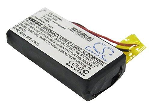 Battery2go Li-ion BATTERY Pack Fits Gateway DMP-X20 MP3 player, DMP-X20