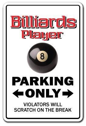 Decorativo Signs con texto en señal de aparcamiento reproductor de ...
