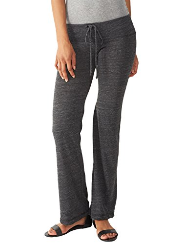 Alternative Womens Eco-Heather Long Pant Eco Black Large