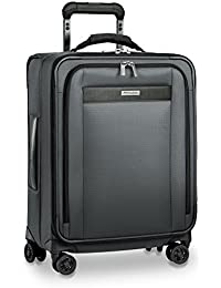 Transcend Wide Carry-on Expandable Spinner, Slate