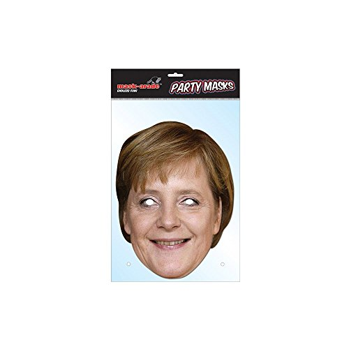 Angela Merkel Celebrity Face Mask (Celebrity Face Masks)