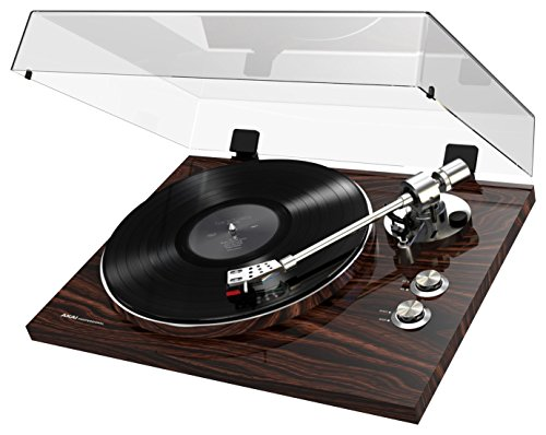 Akai Professional BT500 | Premium Belt-Drive Turntable with Wireless Streaming, DC Motor & Leveling Feet (Walnut Finish) by Akai Professional