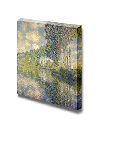 Poplar Series by Claude Monet Print Famous Painting Reproduction