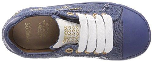 Geox Kilwi D, Zapatillas Para Niñas Azul (Avio)