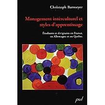 Management interculturel et styles d'apprentissage