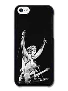 KOKOJIA Accessories Bruce Springsteen Microphone Black and White case for iPhone 5C