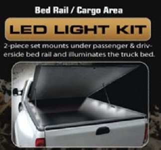 Recon 26417 Universal Cargo Area Bed Rail LED Rock Light Kit