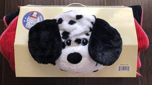 Hugfun Animal Slumber Bag (Black & White Doggy) -