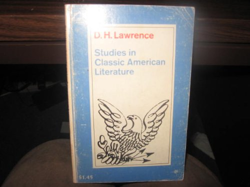 Studies in classic American literature, Lawrence, D. H