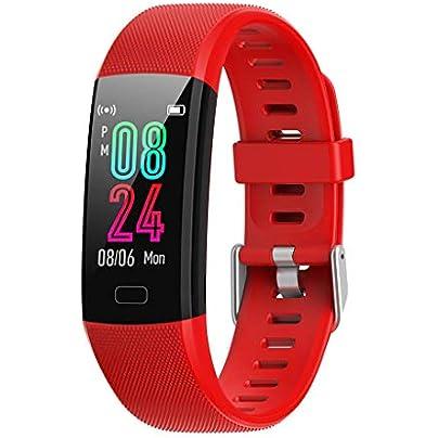 HFXLH Sports Smart Watch Wristband Heart Rate Blood Pressure Blood Oxygen Sleep Monitor Women Men Fitness Smartwatch Estimated Price £39.48 -