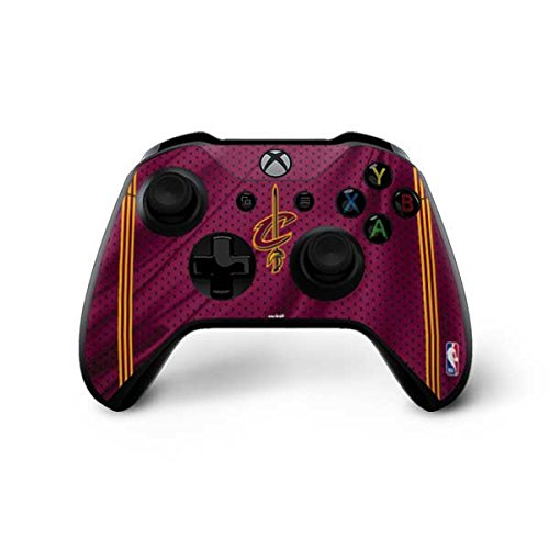 Skinit Cleveland Cavaliers Xbox One X Controller Skin - Cleveland Cavaliers Jersey | NBA Skin by Skinit