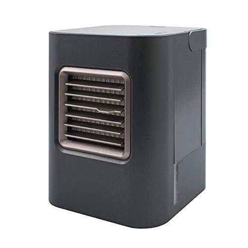 Mini Cooling Fan Small Desktop Air Conditioning Fan, Air Cooler Mini Air Purifier 3 in 1 Mini Air Conditioner Humidifier Purifier and 3 Adjustable Speed   Fan Noiseless, ChuanHan