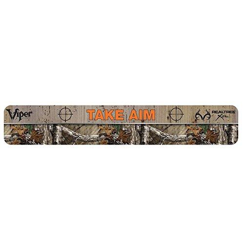 Line Dartboard Throw (Viper Dart Throw/Toe Line Floor Marker: Sharpshooter Take Aim, Realtree Xtra Camouflage (Steel/Soft Tip Darts))
