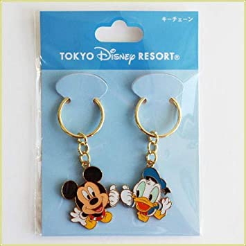Establece llavero Disney Resort Limited Mickey y Donald (Jap ...