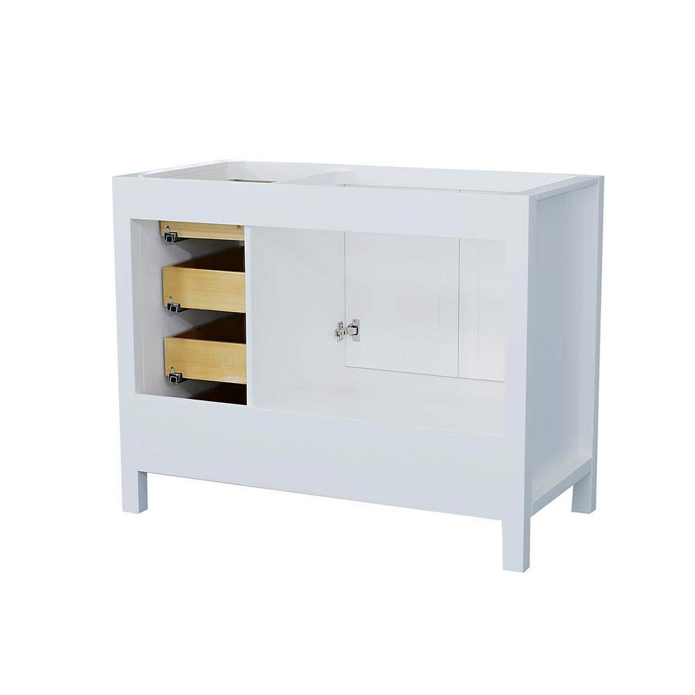 "DKB Beckford Series 42"" Inch Bathroom Base Cabinet in ..."