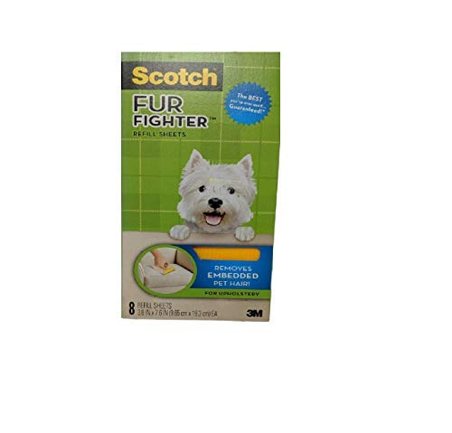 Scotch-Brite Upholstery Pet Hair Remover Refills, 8 Refill Sheets (849RF-8SB)