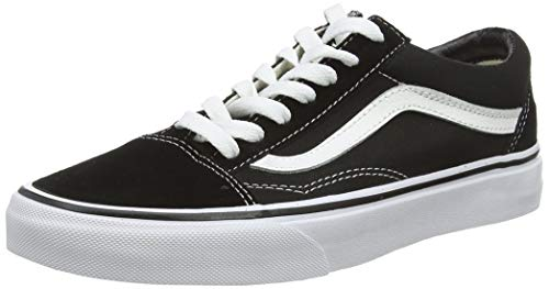 "Vans ""Old Skool Sneakers (Black/White) Unisex Classic Skate Era Suede Shoes"