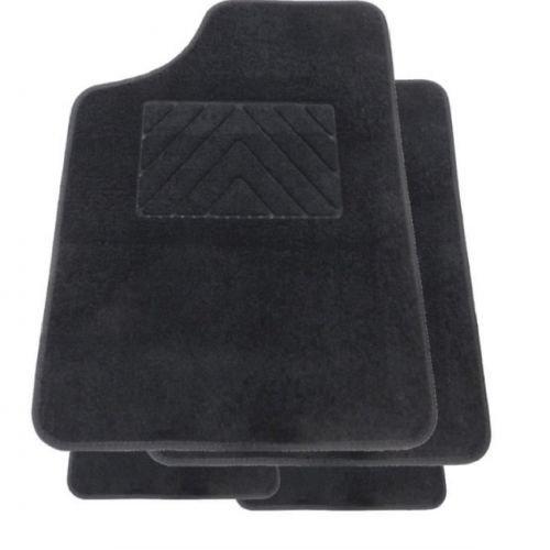 - 2 avants 2 arrieres Tapis Auto ONE PLUS sur mesure pour 206 Moquette Aiguillete 550g//m2+ss couche 1150g//m2 Noir