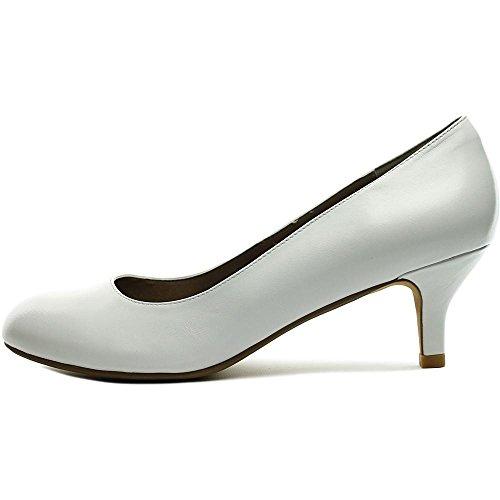 Toe Pump Spirit Le Easy Pump White High Women's Peep Ankle BgxTRn