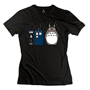 Girl doctor who totoro t shirts nice custom for Amazon custom t shirts