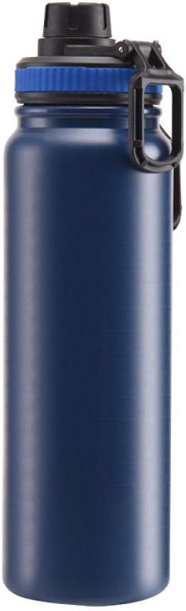 Deportes al Aire Libre Gran Capacidad Botella de Acero Inoxidable Aislamiento Botella de Agua Portátil Montado en vehículo