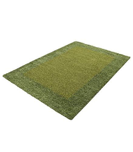 Hochflor Langflor Wohnzimmer Shaggy Teppich Teppich Teppich 2 Farbig Florhöhe 3cm - Rot-Bordeaux, 300x400 cm B0728G4FG7 Teppiche fe8354
