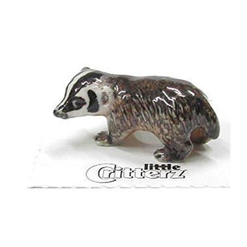 Little Critterz Nocturnal American Badger