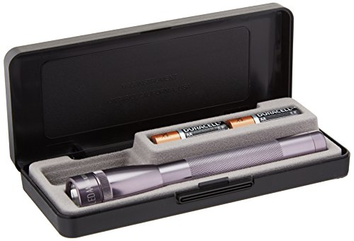(MagLite SP22097M 2AA Mini LED Flashlight, Gray)