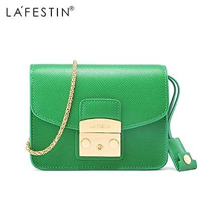 40cab99a928e Amazon.com: LAFESTIN Famous Shoulder Women Flap Designer Real ...
