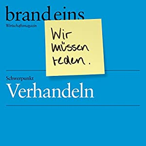 brand eins audio: Verhandeln Audiobook
