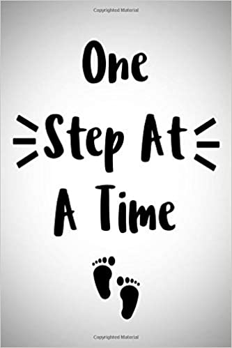 One Step At A Time Journal With Inspirational Sayings Bible