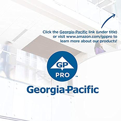 Georgia-Pacific 10440 200 Sheets Per Pack 40 Packs Per Case Safe-T-Gard 2-Ply Interfolded Toilet Paper by GP PRO