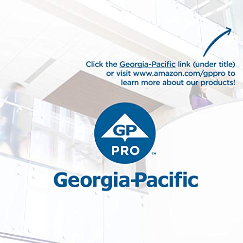 Pacific Blue Basic Recycled Paper Towel Rolls (Previously Branded Envision) through GP PRO (Georgia-Pacific), White, 26601, 800 Feet Per Roll, 6 Rolls Per Case
