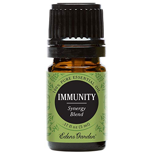 Edens Garden Immunity Essential Oil Synergy Blend, 100% Pure Therapeutic Grade (Highest Quality Aromatherapy Oils- Allergies & Cold Flu), 5 ml
