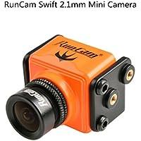 Crazepony RunCam Swift 600TVL Mini Camera 2.1mm Lens 165 Degree DC 5-36V DWDR for Racing Quadcopter Orange