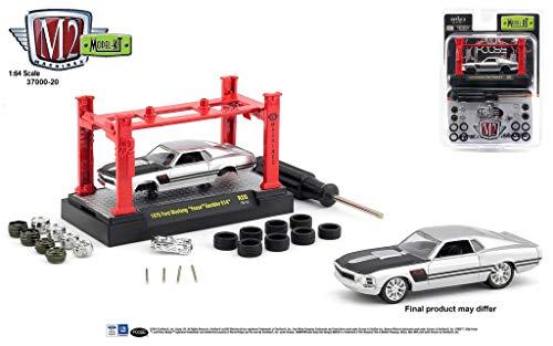 Foose Ford Mustang - M2 Machines 1:64 Model Kit Release 20 1970 Ford Mustang Foose Gambler 514