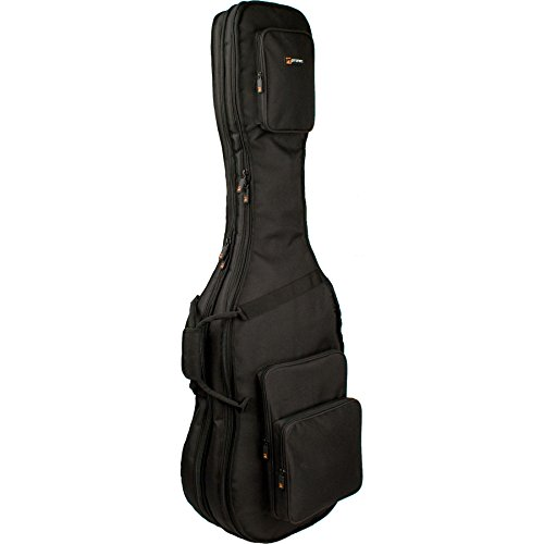 (Pro Tec CF233DBL Double Bass Guitar Gig Bag - Gold Series)