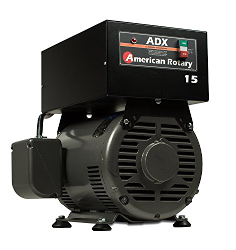 Rotary Phase Converter 15 HP 1 to 3 Phase CNC Extreme Duty American Made ADX15F (Converter Hp Phase Rotary 15)